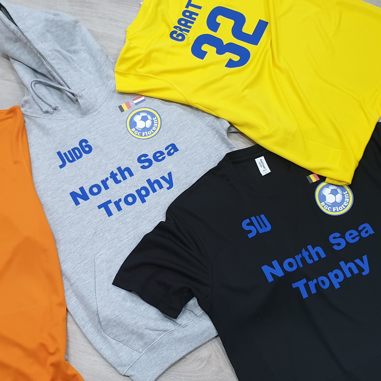 nord sea trophy shirt bedrukken