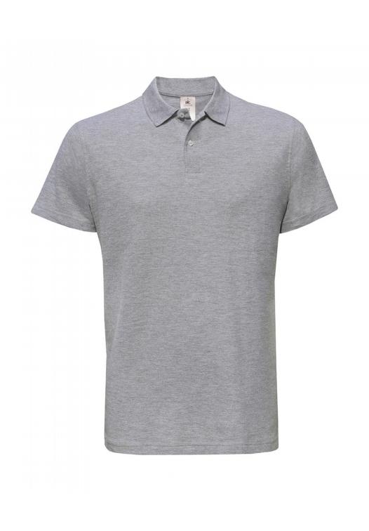 polo kleding bedrukken grijs