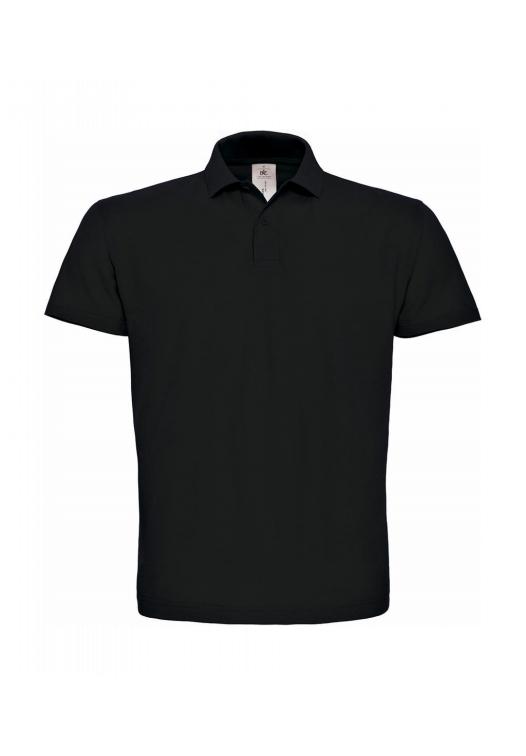 polo kleding bedrukken zwart