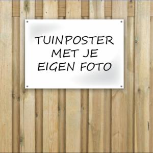 tuinposter met je eigen foto delft zoetermeer